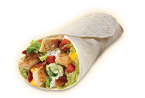 Chicken BLT Burrito